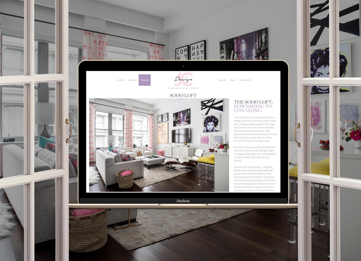 website 101 for interior designers architects and creative services