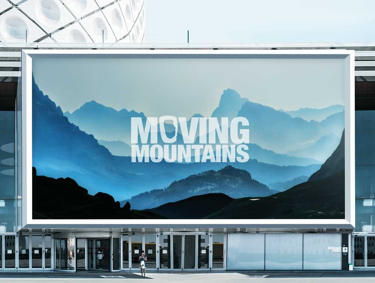 Pro-Sight Moving Moutnains Billboard