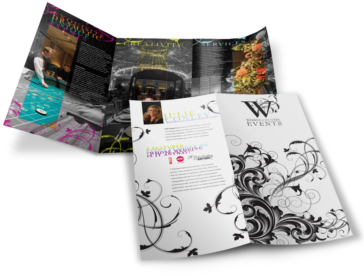 Warren Country Trifold Brochure