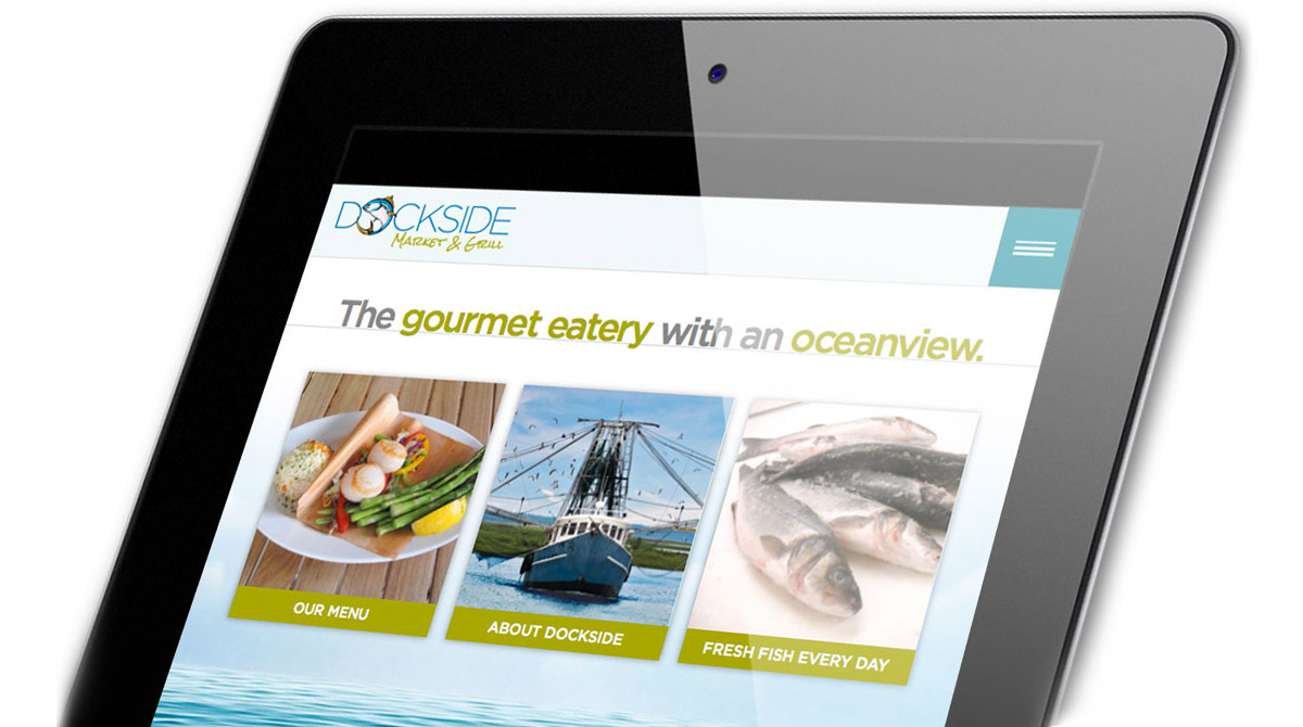 dockside a responsive preview on the ipad